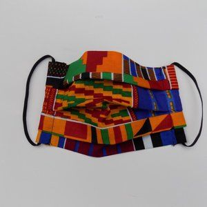 Patchwork Face Mask, African Print Face Mask